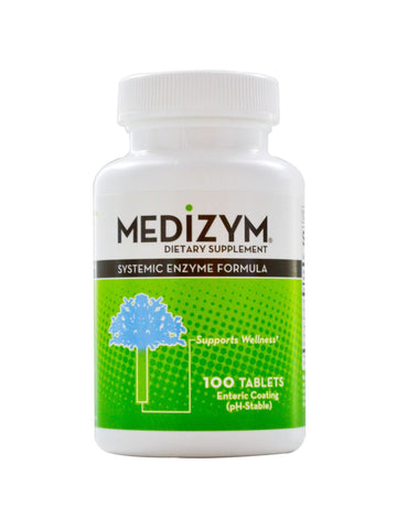 Naturally Vitamins, Medizym Systemic Enzyme Formula, 100 tabs