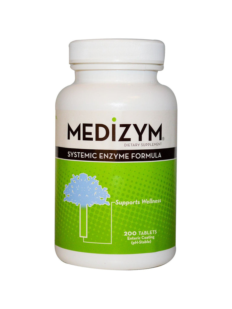 Naturally Vitamins, Medizym Systemic Enzyme Formula, 200 tabs