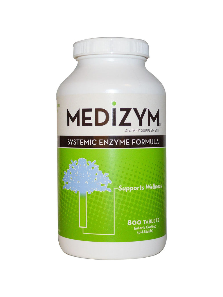 Naturally Vitamins, Medizym Systemic Enzyme Formula, 800 tabs