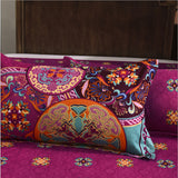 Winter Bohe Skull Thick Brand bedding set Bohemian Print queen Bed Set Bed Clothes Duvet/Quilt Cover Set 3PCS/4PCS