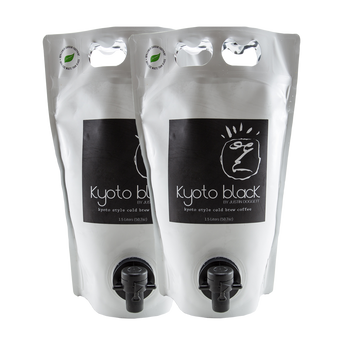 Kyoto Black - Kyoto Style Cold Brew Coffee Pouch