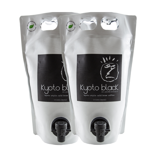 Kyoto Black Cold Cold Brew - Double Pouch (Subscribe for 31% off)