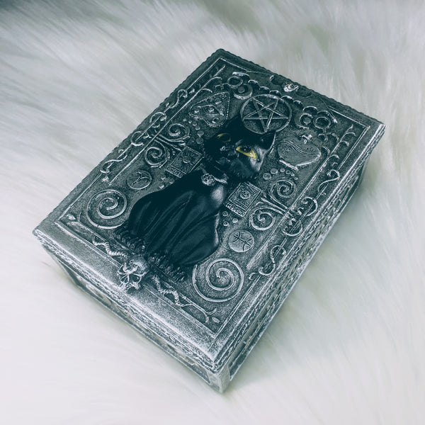Magical Black Cat Box