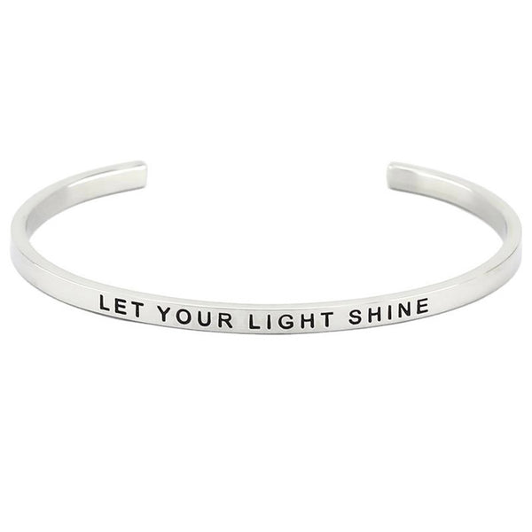Let Your Light Shine Bangle - Willow Moon Shop