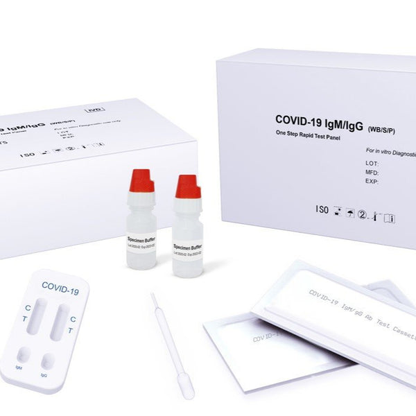 Coronavirus 15 Minute Home Blood Test Kit