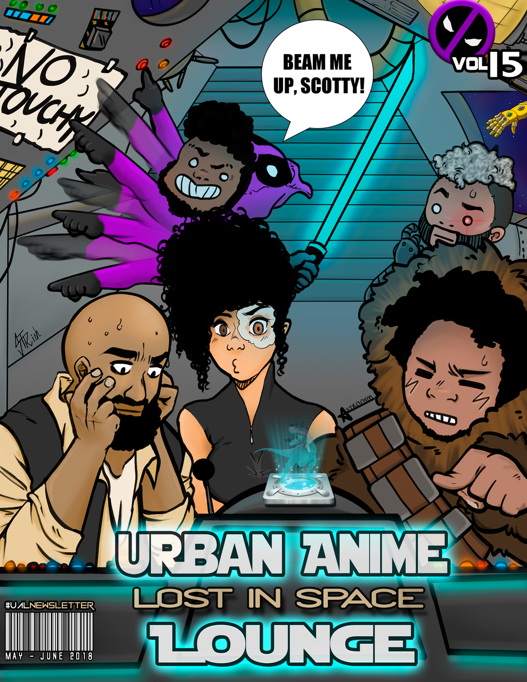 Urban Anime Lounge: Newsletter Volume 15- Lost In Space