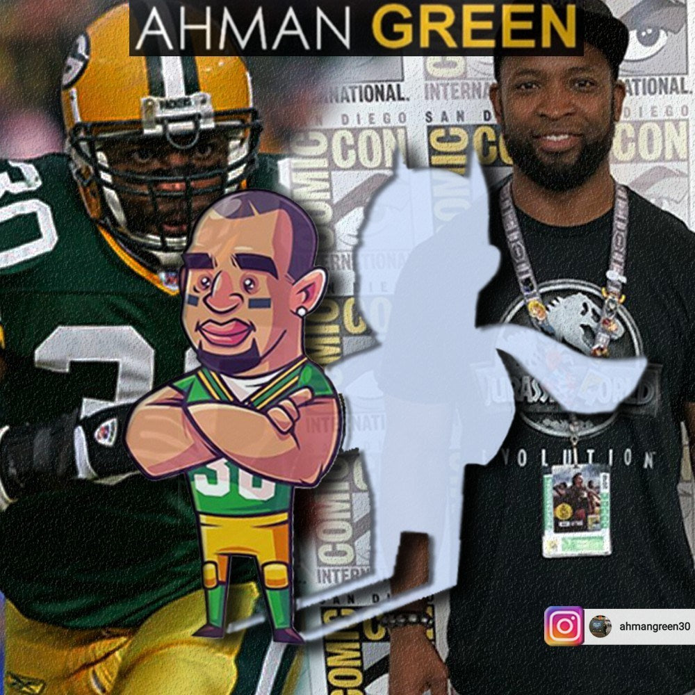 FROM GREENBAY TO GAMEPLAY: TOUCHDOWN WITH AHMAN GREEN AND THE NERDVERSE