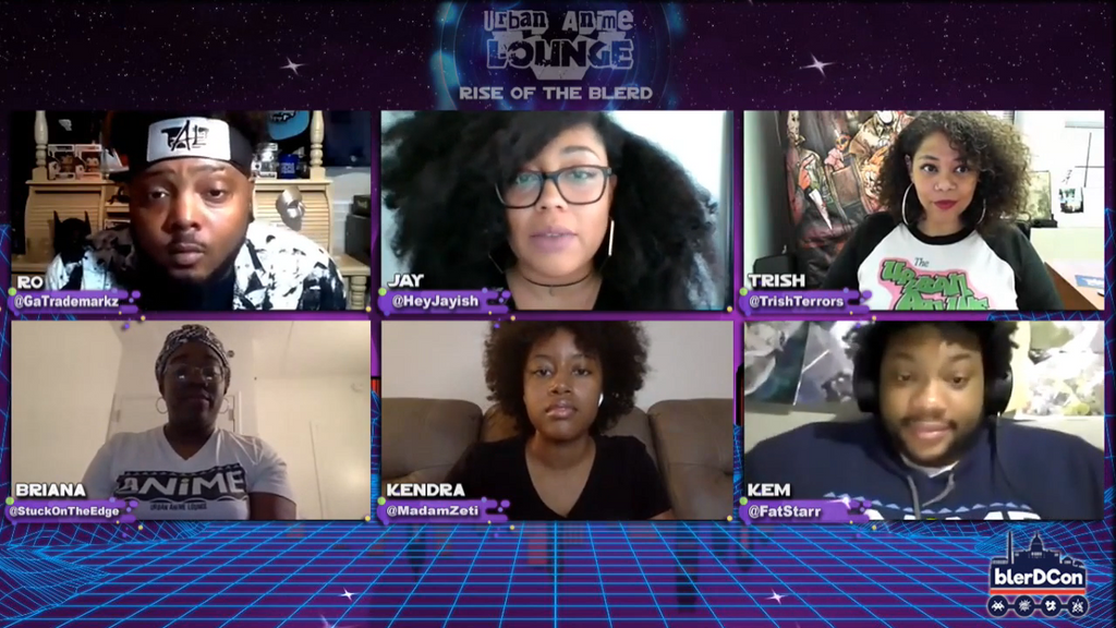 Urban Anime Lounge: Rise of the Blerd (AfroPunk Panel)