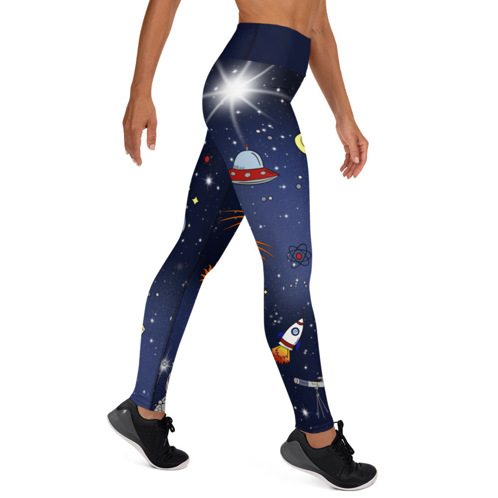Space Yoga Leggings