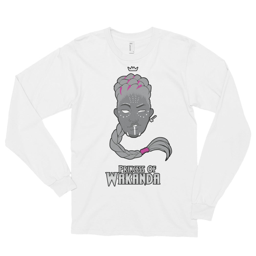 Princess Long Sleeve T-Shirt (Unisex)