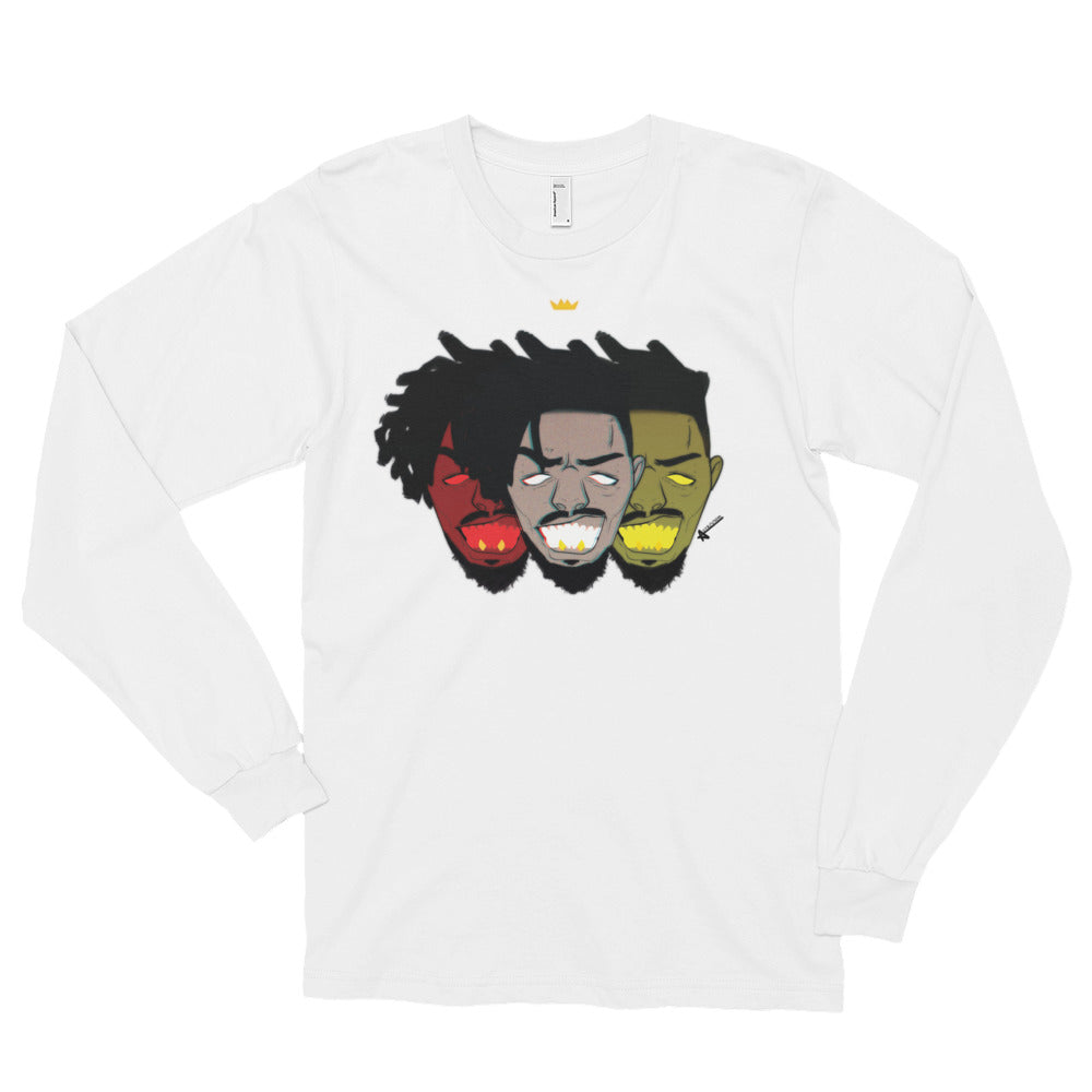 Wakanda KM Long Sleeve T-Shirt (Unisex)