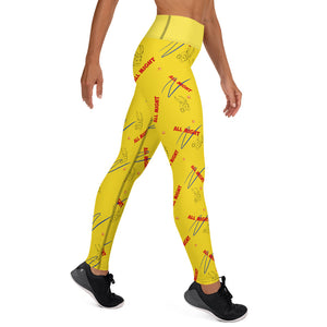 All Might Yoga Leggings