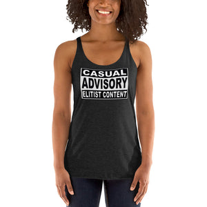 Anime Elitist Women's Racerback Tank