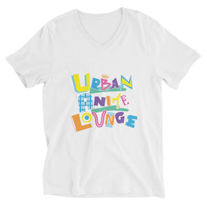 UAL in color Unisex Short Sleeve V-Neck T-Shirt