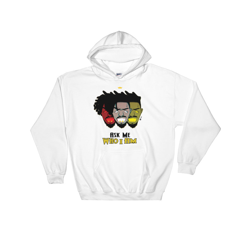 Ask Me Hooded Sweatshirt (Men's)