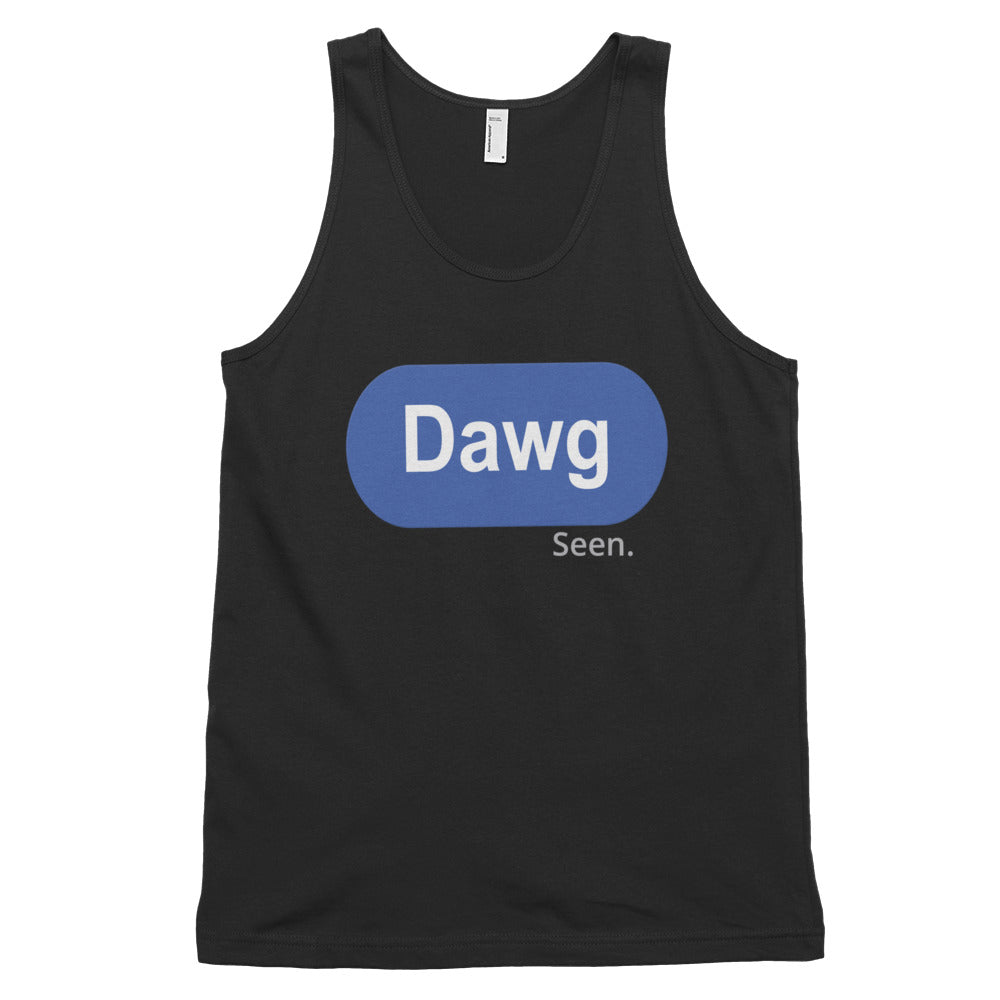 Dawg !! Classic tank top (unisex)