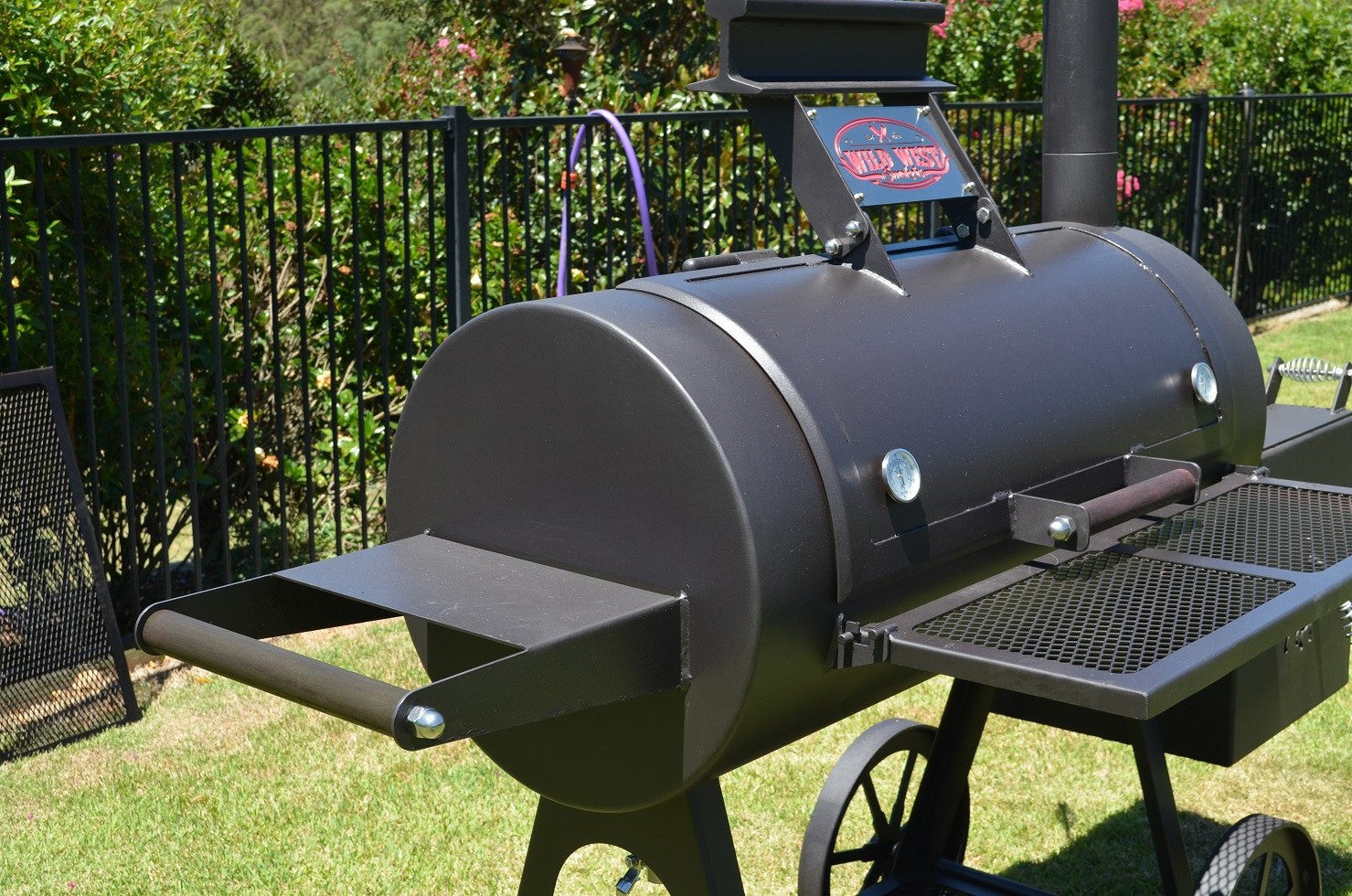 20 Inch Offset Reverse Flow BBQ Smoker - Billy the Kid