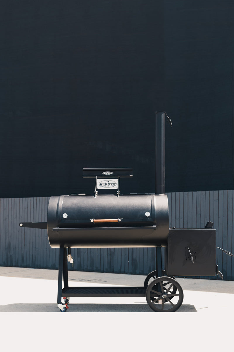 Offset Reverse Flow BBQ Smoker