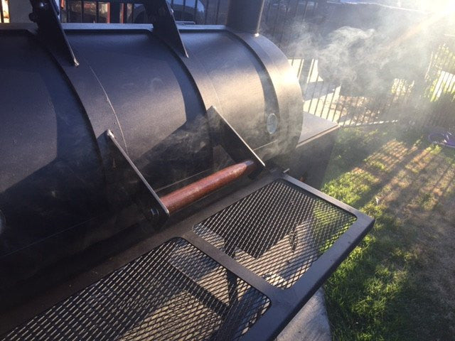 20 Inch Offset Reverse Flow BBQ Smoker - Billy the Kid – Wild West