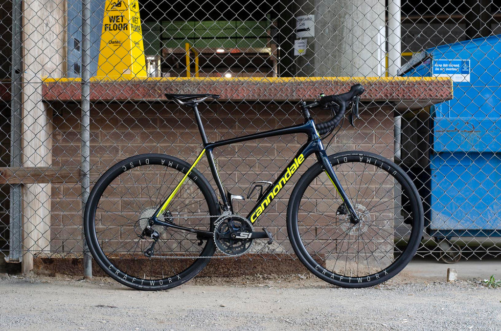 Cannondale synapse carbon shimano 105 craftworx ultima disc 30 review