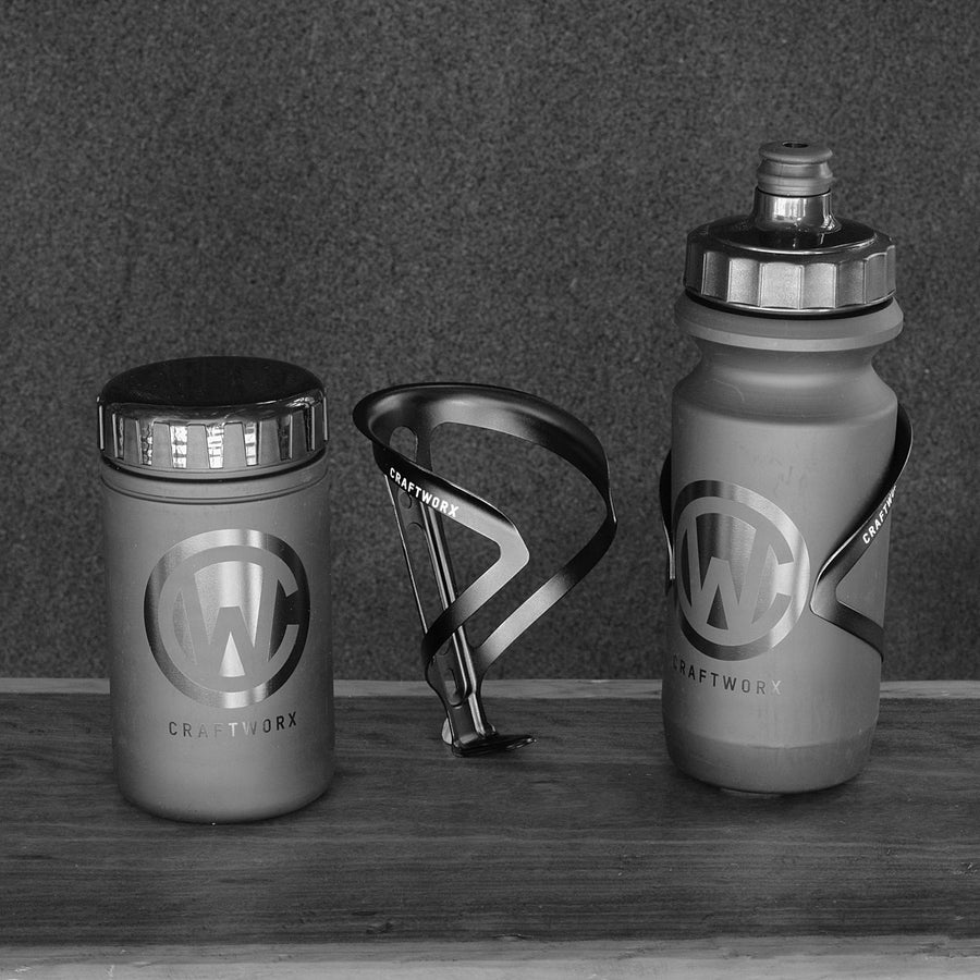 Ultralite Alloy Cage, Water Bottle & Tool Can Pack