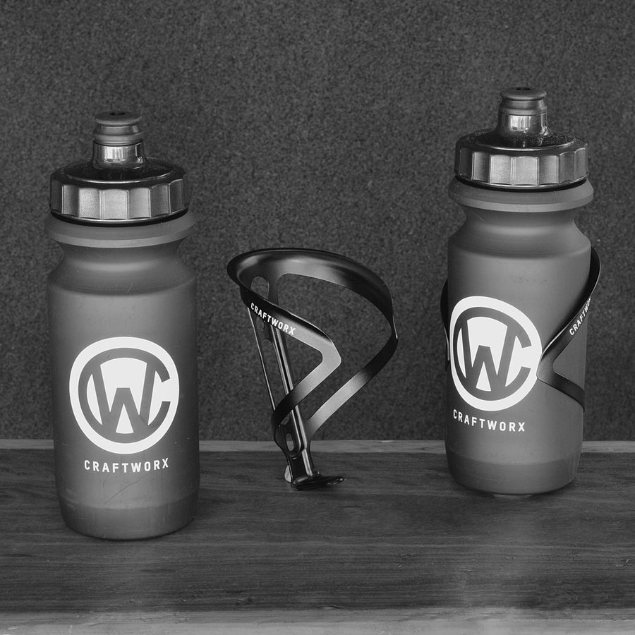 Ultralite Alloy Cage & Soft Squeeze Bottle Pack
