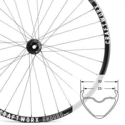 Enduro | 29er | Mountain Bike Wheelset | 1686g | 23mm Deep | 30mm Wide