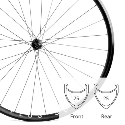 Archetype Speed HD | Road Wheelset | 1590g | 25mm Deep | 23mm Wide