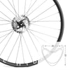 Hydra | Road Disc Wheelset | 1902g | 23mm Deep | 25mm Wide