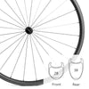 Ultima  Sprint SL HD | Carbon Road Wheels | 1439g | For Riders Over 95kg