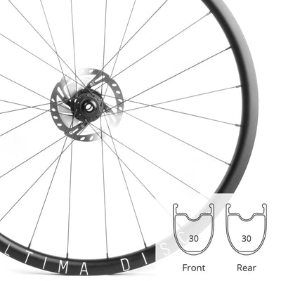 Ultima 30 HD | Road Disc Wheelset | 1803g | 30mm Deep | 24mm Wide