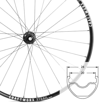 XTrail | 29er | Mountain Bike Wheelset | 1615g | 18mm Deep | 24mm Wide