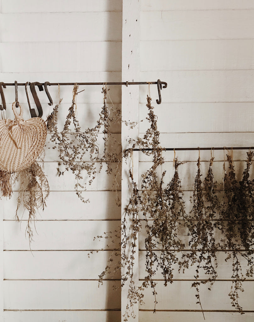 Hanging Dried Flowers Lavender Rooted Love Flower Subscription Cornwall