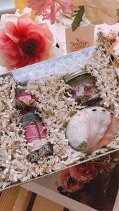 Blue Sage & Rose Ritual Bath Kit