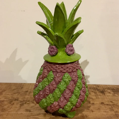 Piña / Pineapple from San Jose de Gracia / Green & Purple