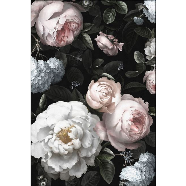 Floral Wrap Canvas