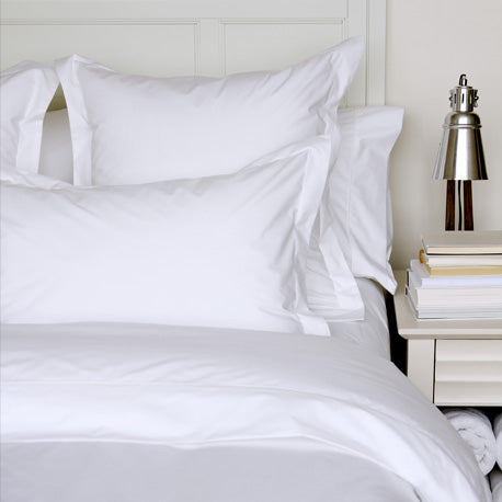 Percale Deluxe White Sheets