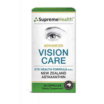 AstaSupreme Advanced Vision Care 30caps