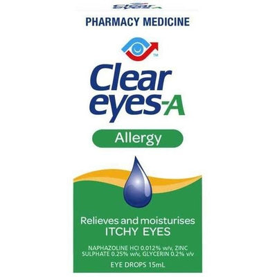 Clear Eyes-A Allergy Drops 15ml
