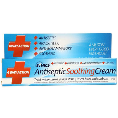 ETHICS 4 Way Antiseptic Soothing Cream 50g