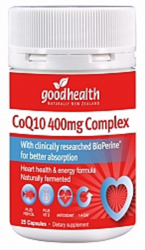 Good Health Products CoQ10 400mg 60caps
