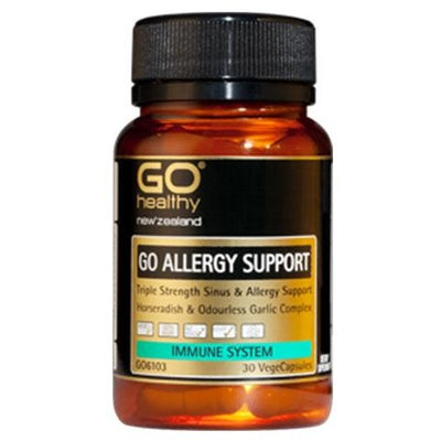 GO Healthy GO Allergy Support Capsules
