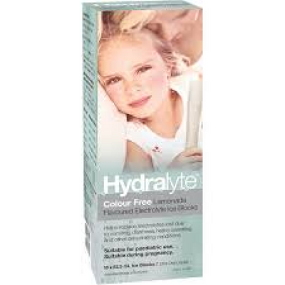 Hydralyte Electrolyte Ice Blocks Lemonade 16 x 62.5ml