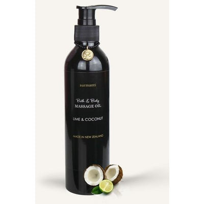 Surmanti Lime & Coconut Bath Body & Massage Oil