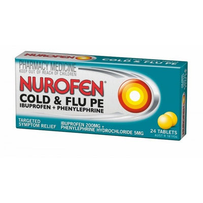 Nurofen Cold & Flu PE Tablets 24