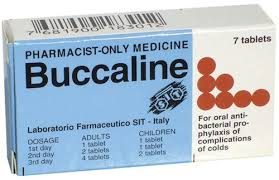 Buccaline 7 tablets - Pharmacist ONLY Medicine
