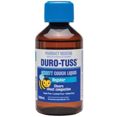 Duro-Tuss CHESTY REGULAR Cough Syrup 200ml