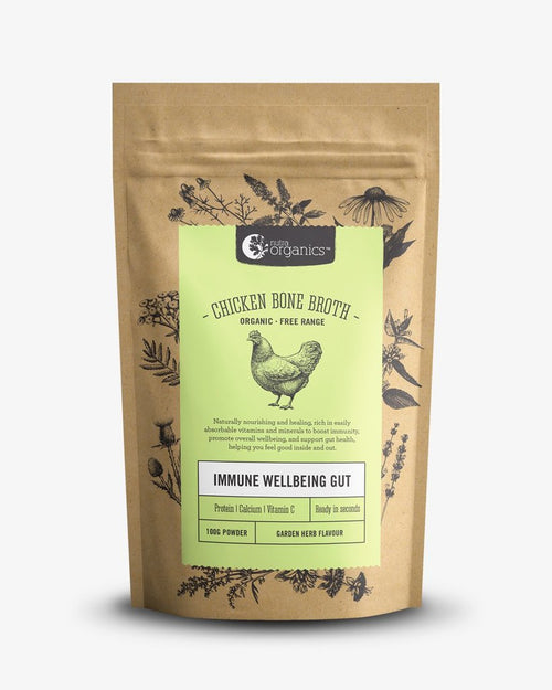 Nutra Organics Chicken Bone Broth Garden Herb 100g