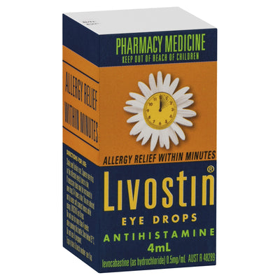 Livostin Eye Drops 4ml