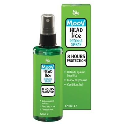 Moov Headlice Defence Spray - 8 hours Protection